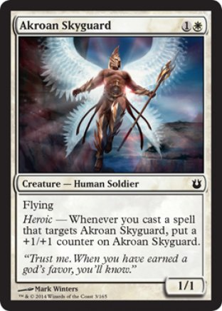 Akroan Skyguard | Born of the Gods
