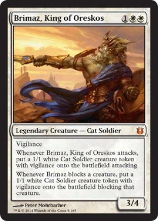 Brimaz, King of Oreskos | Born of the Gods