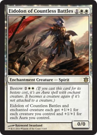 Eidolon of Countless Battles | Born of the Gods