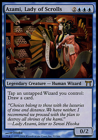 Azami, Lady of Scrolls | Champions