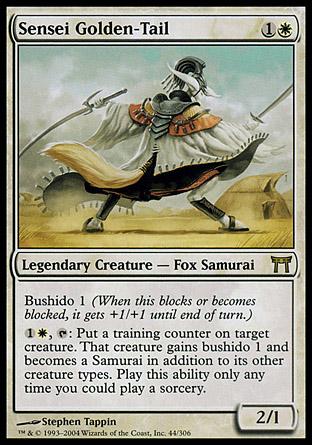Sensei Golden-Tail | Champions