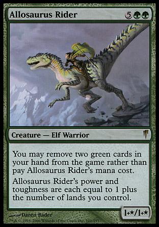 Allosaurus Rider | Coldsnap