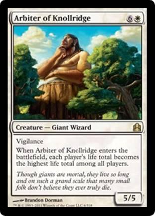 Arbiter of Knollridge | Commander 2011