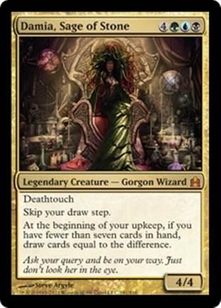 Damia, Sage of Stone | Commander 2011