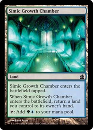 Simic Growth Chamber | Commander 2011
