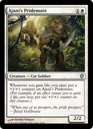 Ajani's Pridemate | Commander 2013