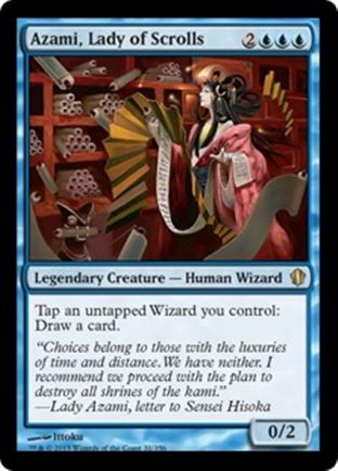 Azami, Lady of Scrolls | Commander 2013