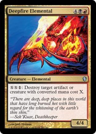 Deepfire Elemental | Commander 2013