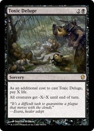 Toxic Deluge | Commander 2013