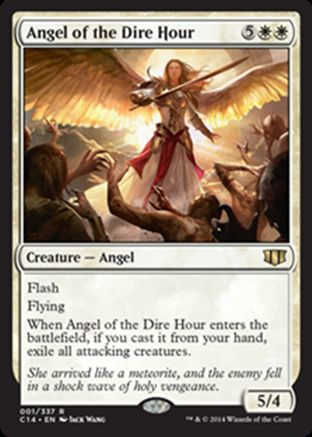 Angel of the Dire Hour | Commander 2014