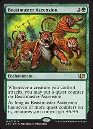 Beastmaster Ascension | Commander 2014