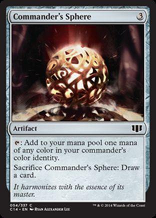 Commander's Sphere   Commander 2014