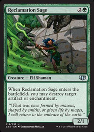 Reclamation Sage | Commander 2014