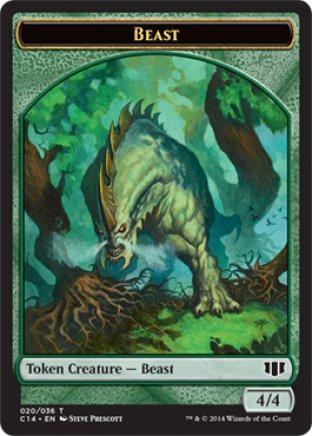 Beast token | Commander 2014