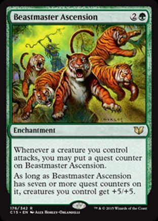 Beastmaster Ascension | Commander 2015