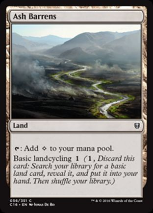 Ash Barrens | Commander 2016