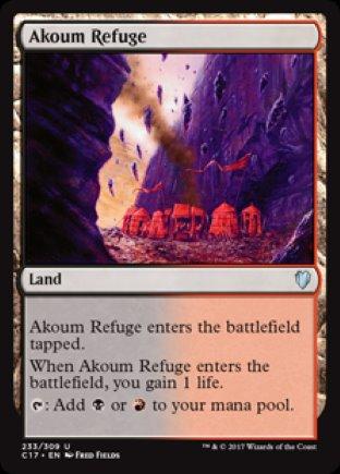 Akoum Refuge | Commander 2017