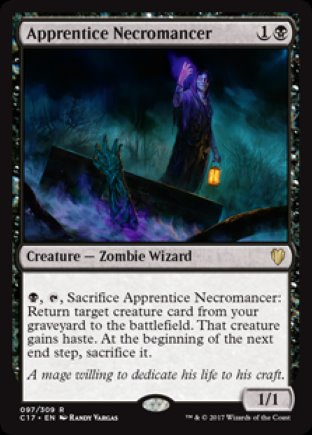 Apprentice Necromancer | Commander 2017