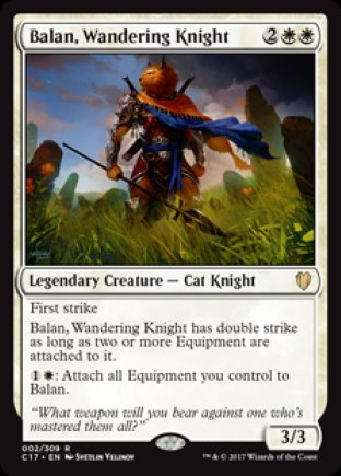 Balan, Wandering Knight | Commander 2017