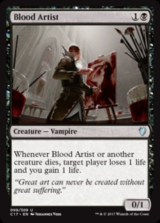 Blood Artist | Commander 2017