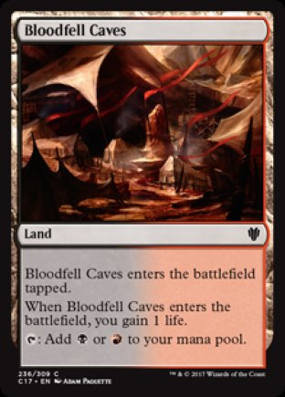 Bloodfell Caves | Commander 2017