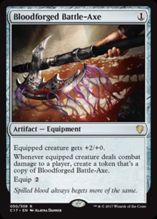 Bloodforged Battle-Axe | Commander 2017