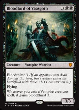 Bloodlord of Vaasgoth | Commander 2017