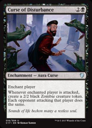Curse of Disturbance   Commander 2017