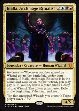 Inalla, Archmage Ritualist | Commander 2017