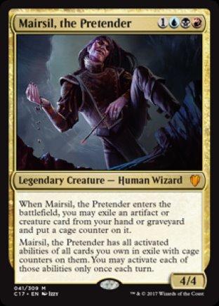 Mairsil, the Pretender | Commander 2017