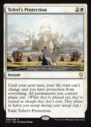 Teferi's Protection | Commander 2017