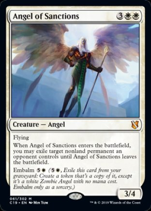 Angel of Sanctions | Commander 2019