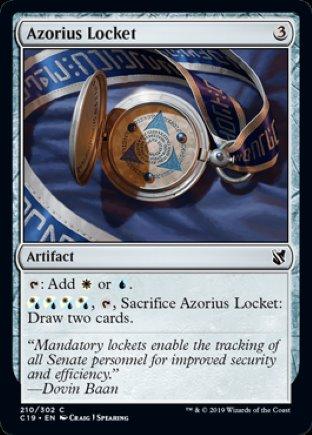 Azorius Locket | Commander 2019