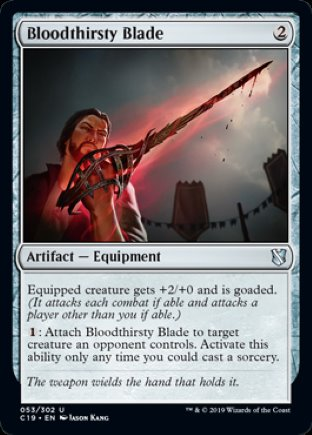 Bloodthirsty Blade | Commander 2019