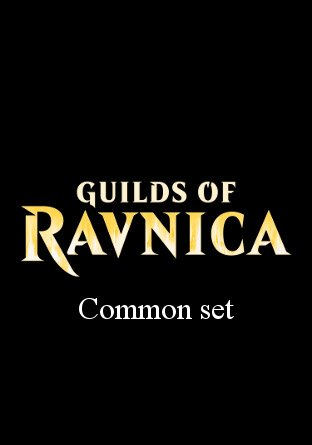 -GRN- Guilds of Ravnica Common Set | Complete sets