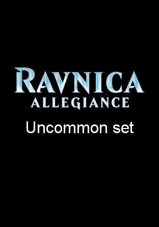 -RNA- Ravnica Allegiance Uncommon Set | Complete sets