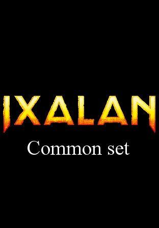 -XLN- Ixalan Common Set | Complete sets