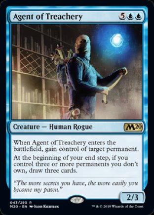 Agent of Treachery | Core Set 2020