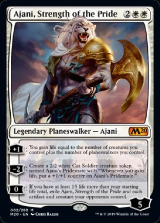 Ajani, Strength of the Pride | Core Set 2020