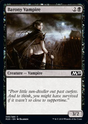 Barony Vampire | Core Set 2020