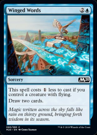 Winged Words | Core Set 2020