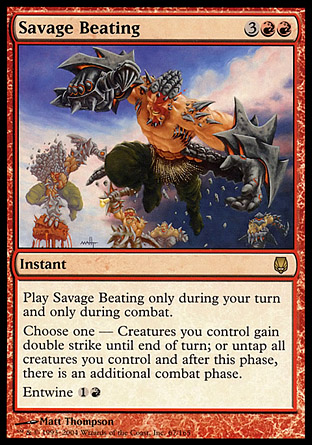 Savage Beating | Darksteel