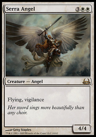 Serra Angel | Divine vs Demonic