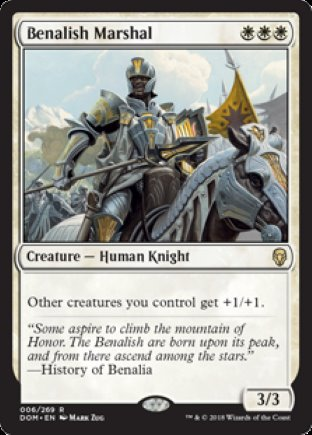 Benalish Marshal | Dominaria
