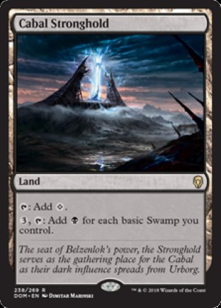 Cabal Stronghold | Dominaria