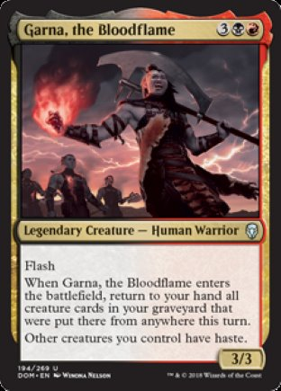Garna, the Bloodflame | Dominaria