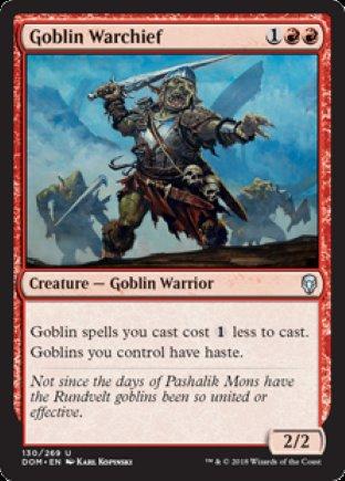 Goblin Warchief | Dominaria