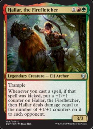 Hallar, the Firefletcher | Dominaria