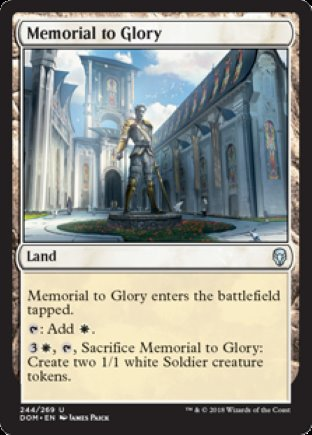 Memorial to Glory | Dominaria