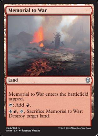 Memorial to War | Dominaria